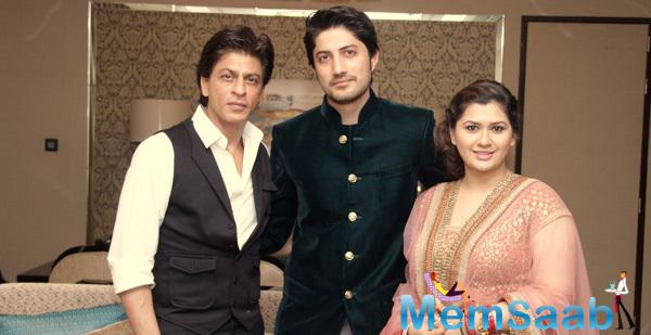 Shah Rukh Khan At Wedding Reception Of Manali Jagtap