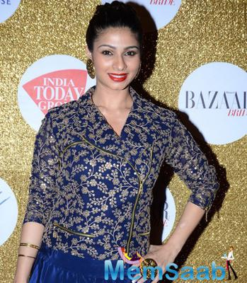 Esha And Tanishaa Mukerji At Harper's Bazaar Bride Anniversary Bash