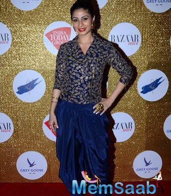 Tanishaa Mukerji Looks Radiant At Harper's Bazaar Bride Anniversary Bash