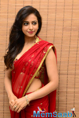 Rakul Preet Singh Nice Hot Photo Shoot Still