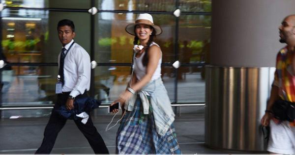 Jacqueline Fernandez Snapped Post Bangkok Return