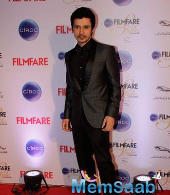 Darshan Kumaar Dashing Look At The Ciroc Filmfare Glamour And Style Awards 2015