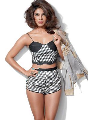 Priyanka Chopra Super Hot And Sexy Scans From Cosmopolitan India Magazine March 2015
