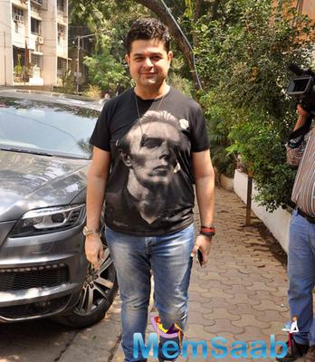 Dabboo Ratnani Arrived To Attend The Mens Health Magazine Cover Page Launch Event