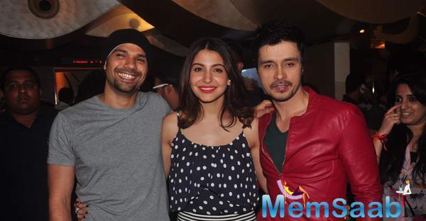 Anushka ,Neil And Darshan Kumaar Attend NH10 Screening