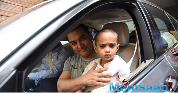 Aamir Khan Takes Off To Hilton Shilim With Azad For His Birthday Bash