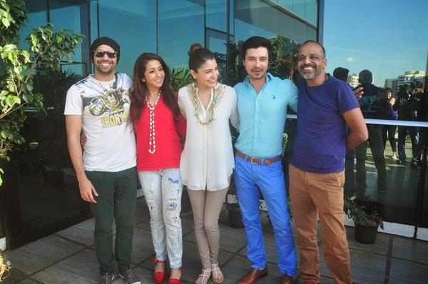 Actress Anushka Sharma Celebrates Success Of NH With Cast
