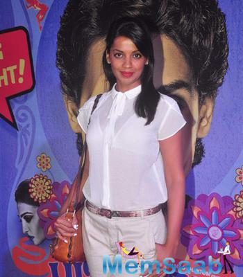 Mugdha Godse Gorgeous Look At The Premiere Of Hunterrr Movie