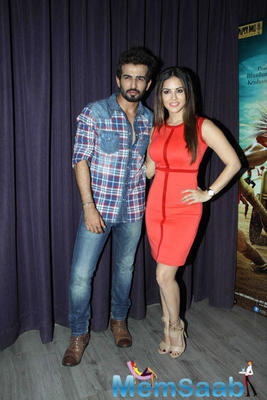 Sunny Leone At Film Ek Paheli Leela Press Meet