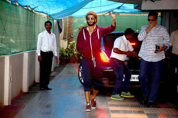 Ranveer Singh Discharged From Hospital Photos