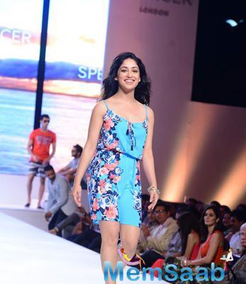 Yami Gautam Walks For Marks N Spencer