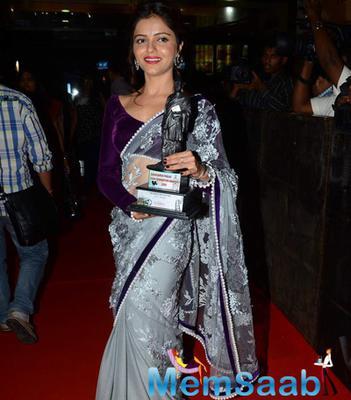 Television Actors Rubina Dilaik Winning Dadasaheb Phalke Film Foundation Awards
