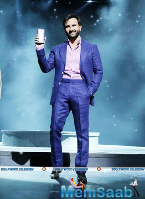 Saif Ali Khan At The Launch Of The Much-Awaited Zenfone 2 Series Smartphones