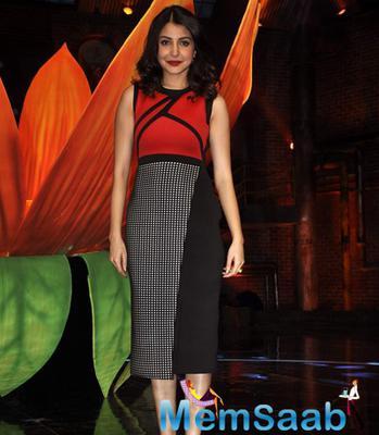 Karan,Ranbir And Anushka Promote Film Bombay Velvet