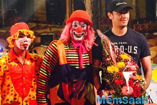 Singer Sonu Nigam Visits International Circus Festival 2015