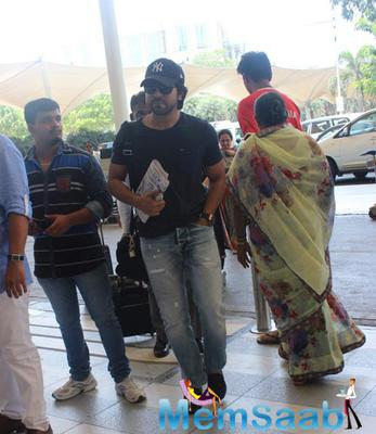 Anil,Ram And Priyanka Snapped At Mumbai Airport