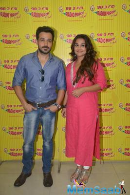 Vidya And Emraan Promote Hamari Adhuri Kahani At Red FM