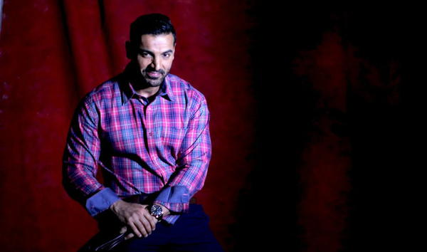 John Abraham Dappers Look Shoot For Grasim New A/W Collection 2015