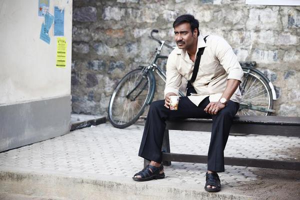 First Look Of Ajay Devgan New Movie Drishyam