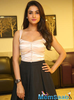 Sonal Chauhan Attractive Simple Look Photo Shoot Still