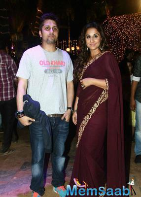 Vidya Balan Promote Hamari Adhuri Kahani On The Sets Of Udaan