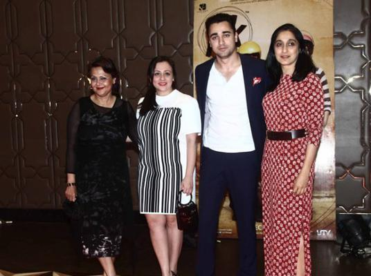 Imran Khan Was Also Seen At The Bash With His Wife Avantika Malik, Mother Nuzhat Khan And Mother-In-Law Vandana Malik
