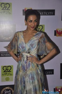 Malaika Arora Khan At Shine Young 2015