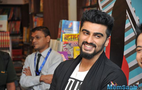 Arjun Kapoor And Javed Akhtar Launch Me Mia Multiple Book