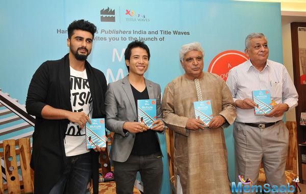 Arjun Kapoor,Debashish Irengbam And Javed Akhtar Launch Me Mia Multiple Book