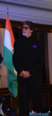 Big B The Guest Of Honor At The U.S. Consulate Mumbai General Event
