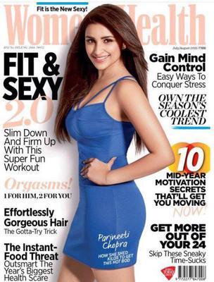 Fit And Sexy Parineeti Chopra On Women's Health Magazine July 2015