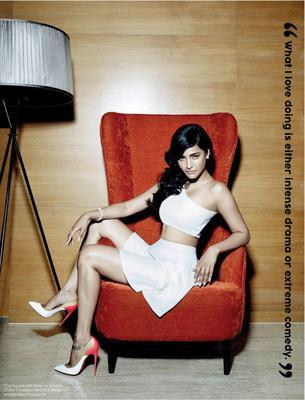 Shruti Haasan Photo Shoot For FHM India Magazine