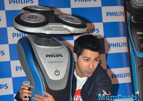 Varun Dhawan To Endorse Philips India's Shaving Range