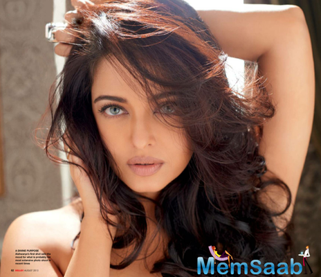 Aish Latest Photoshoot On The Cover Of Hello