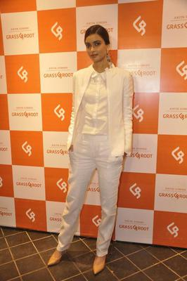 Diana Penty Looks Stylist During The Anita Dongre's New Line Grassroot Store Launch Event