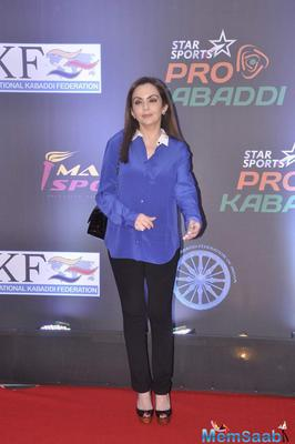 B-Town Stars Attend The Pro Kabaddi Final Event