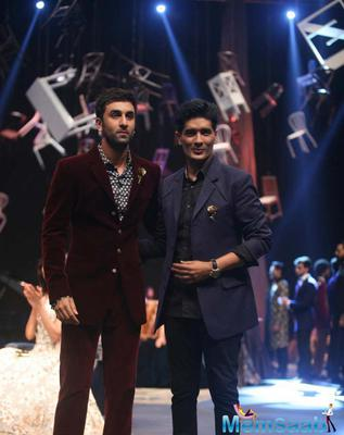 Ranbir Kapoor Stole The Limelight At Manish Malhotra's Show