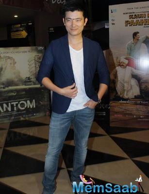 Meiyang Chаng Cool Dashing Look During Baankey Ki Crazy Baraat Movie Screening
