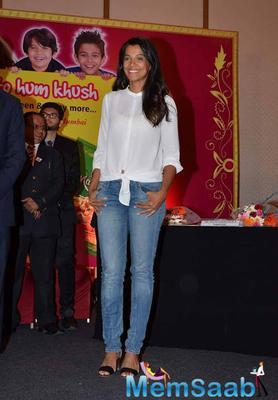 Mugdha Godse Flashes Smile During Harley Food Launch Event