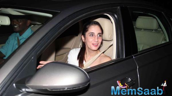 Farah Khan Arrives At Dad Sanjay Khan's Eid Party