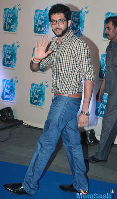 Aditya Thackeray Waves Hand For Fans At The Launch Of Deepika Padukone NGO Live Love Laugh
