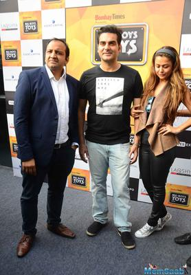 Arbaaz Khan And Amrita Arora At Big Boys Toys Expo 2015