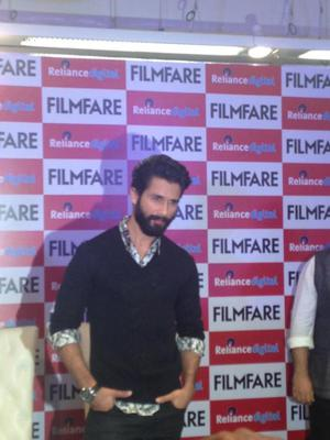Filmfare Shaandaar Cover Unveiled By Shahid Kapoor And Alia Bhatt