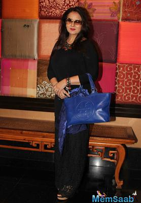 Poonam Dhillon Looked Very Smart And Beautiful With Her Attire At PVE