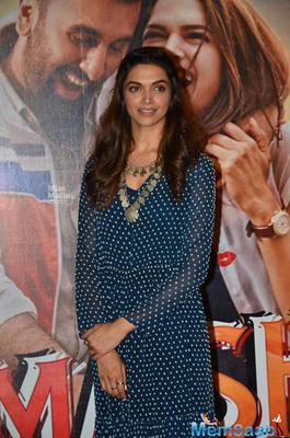 Deepika Padukone Looked Pretty In Saloni Maxi Dress At Trailer Launch