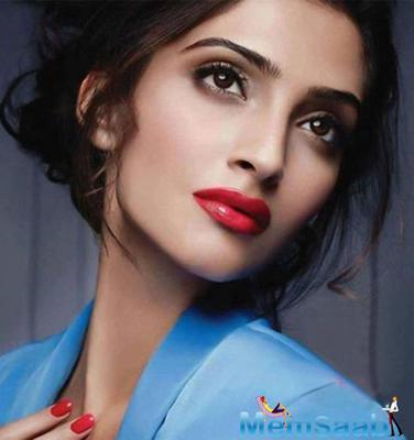 Sonam Glam Up The Bazaar Arabia Cover