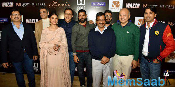 Wazir Special Screening Held At Last Night In Delhi