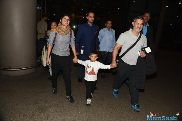 Aamir Returns From Switzerland After New Year Celebration