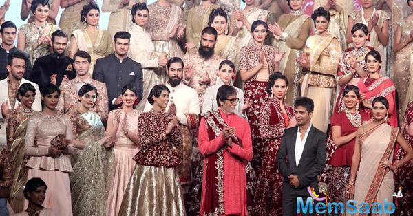 Vikram Phadnis Celebrated His 25 Years In Fashion Industry With Celebs