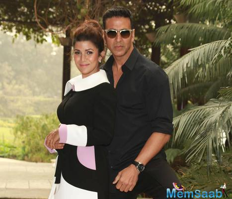 Akshay And His Co-Star Nimrat Kaur Are On Their Airlift Promotional Spree
